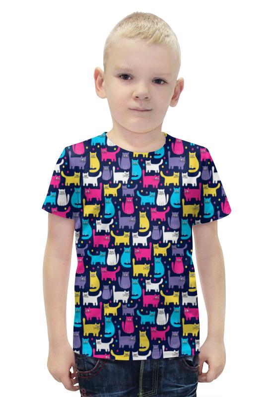 Футболка с полной запечаткой для мальчиков Printio Котятки футболка с полной запечаткой для мальчиков printio bats spawn arsb