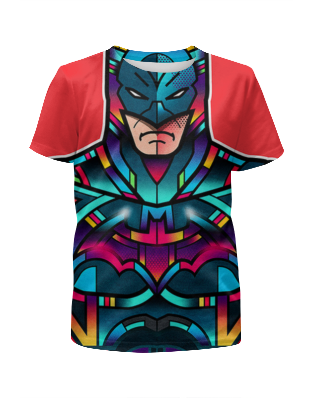 Футболка с полной запечаткой для мальчиков Printio Batman футболка с полной запечаткой для мальчиков printio braaaaatnsssss