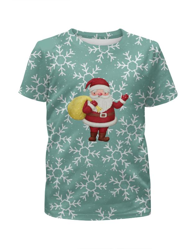 Printio Дед мороз футболка с полной запечаткой для мальчиков printio зима мороз солнце