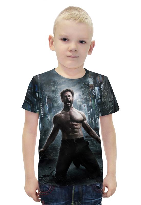 Футболка с полной запечаткой для мальчиков Printio Росомаха футболка с полной запечаткой для мальчиков printio bats spawn arsb