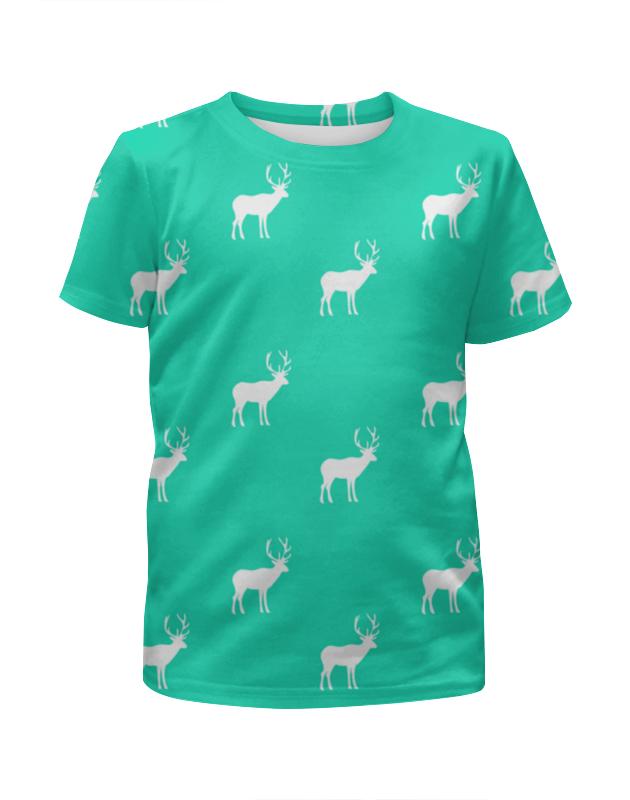 Футболка с полной запечаткой для мальчиков Printio Олень футболка с полной запечаткой для мальчиков printio новый год 2016