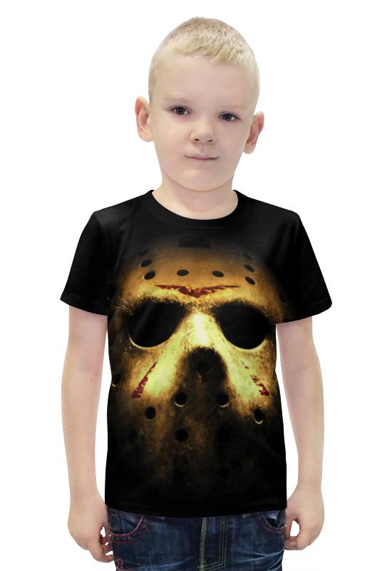 Футболка с полной запечаткой для мальчиков Printio Jason футболка с полной запечаткой для мальчиков printio bats spawn arsb