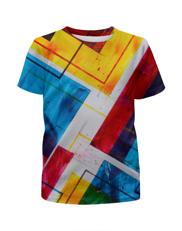 Футболка с полной запечаткой для мальчиков Printio Абстракция 3d футболка с полной запечаткой для мальчиков printio леденцы 3d