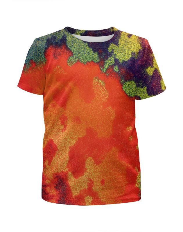 Футболка с полной запечаткой для мальчиков Printio Цветные брызги футболка с полной запечаткой для мальчиков printio цветные кошки