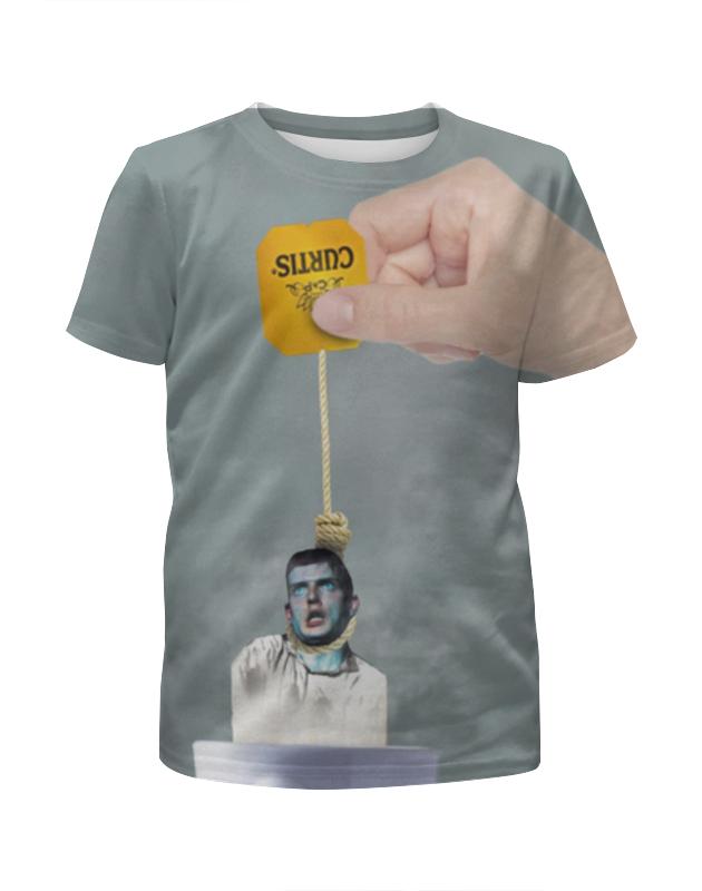 Футболка с полной запечаткой для мальчиков Printio Ian curtis meme ian turpin ernst