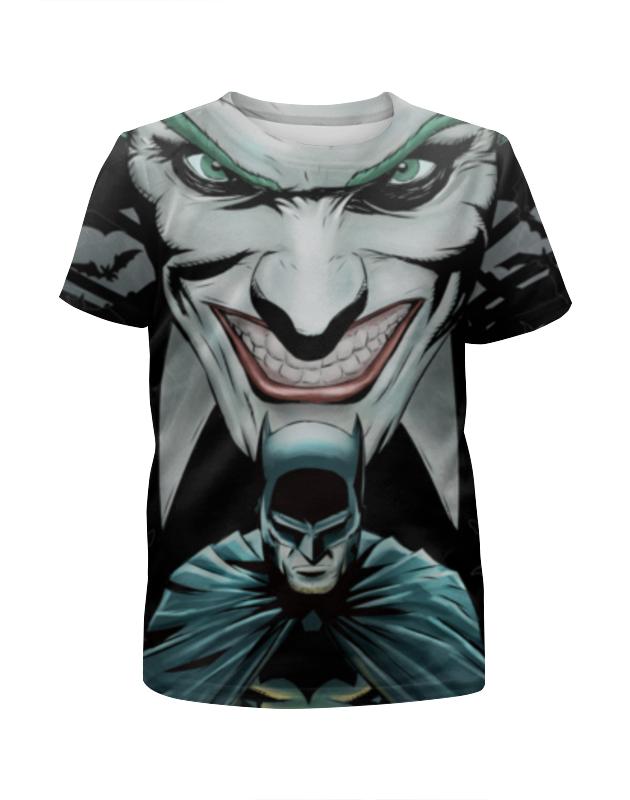 Футболка с полной запечаткой для мальчиков Printio Бэтмен / batman футболка с полной запечаткой для мальчиков printio бэтмен batman