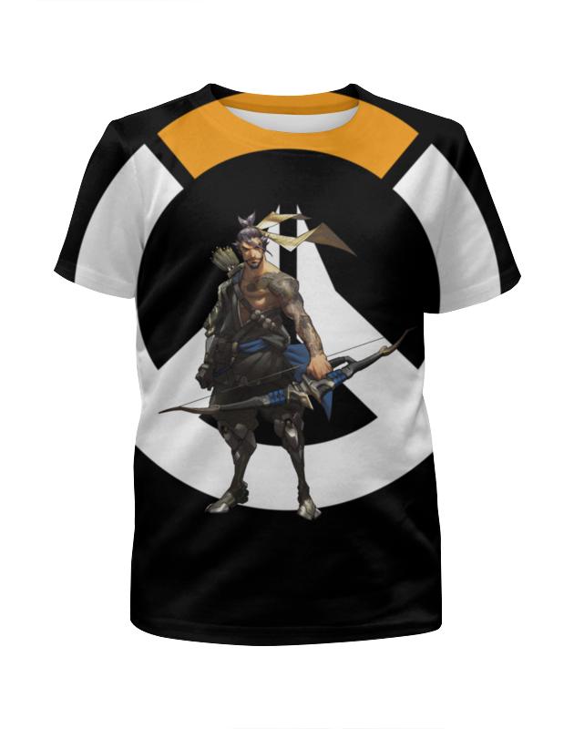 Футболка с полной запечаткой для мальчиков Printio Overwatch hanzo / овервотч хандзо футболка классическая printio overwatch хандзо