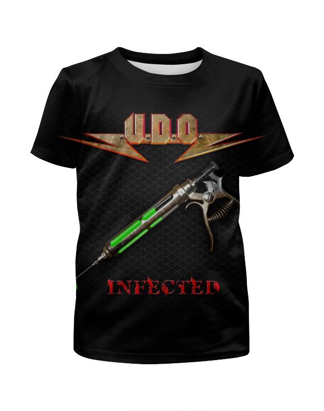 Футболка с полной запечаткой для мальчиков Printio U.d.o. band футболка с полной запечаткой для мальчиков printio stryper band