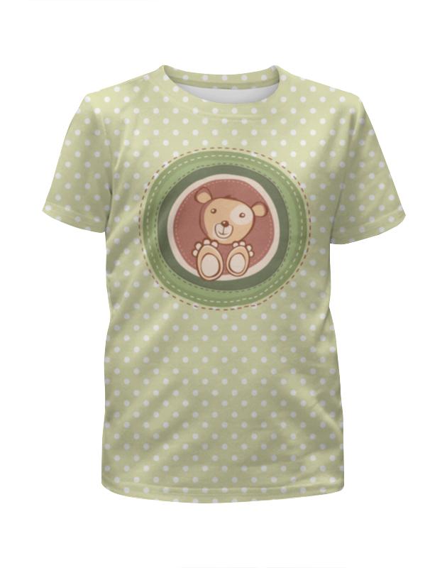 Футболка с полной запечаткой для мальчиков Printio Медвежонок медвежонок кубеба kubeba