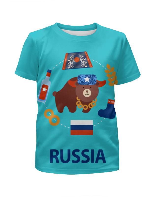 Футболка с полной запечаткой для мальчиков Printio Россия (russia) футболка с полной запечаткой printio москва россия