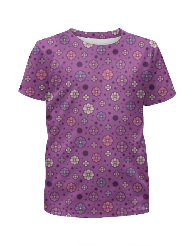Футболка с полной запечаткой для мальчиков Printio Лютики футболка с полной запечаткой для мальчиков printio на отдых