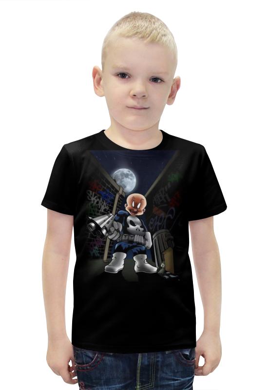 Футболка с полной запечаткой для мальчиков Printio Бандюга футболка с полной запечаткой для мальчиков printio bats spawn arsb