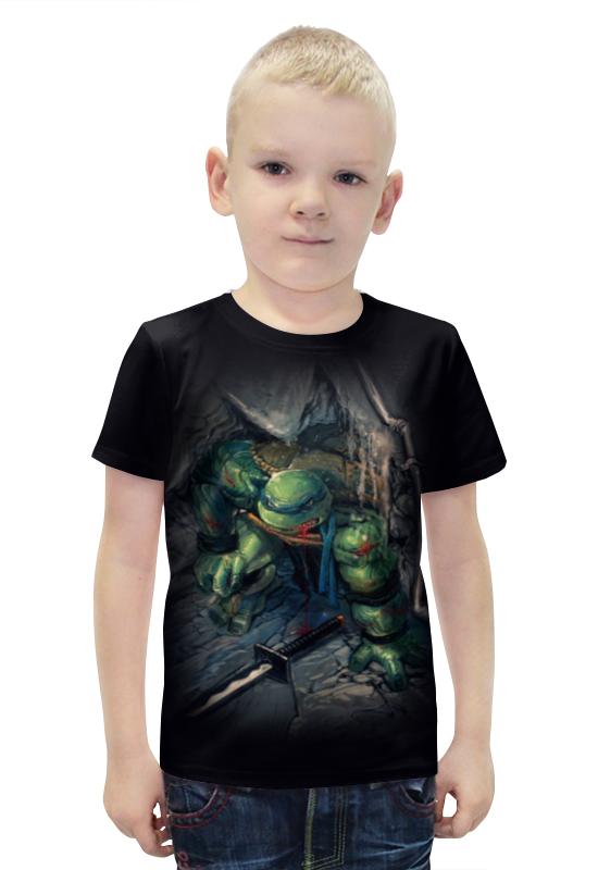 Футболка с полной запечаткой для мальчиков Printio Tmnt! футболка с полной запечаткой для мальчиков printio фруктовая