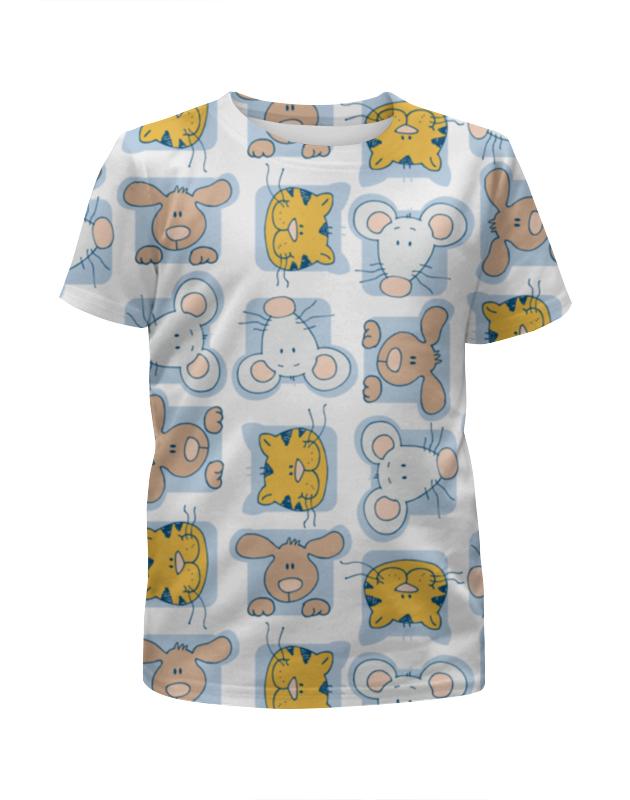 Футболка с полной запечаткой для мальчиков Printio Кошки мышки футболка с полной запечаткой для мальчиков printio цветные кошки