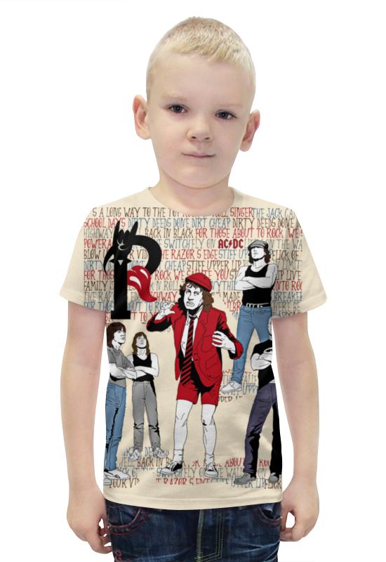 Футболка с полной запечаткой для мальчиков Printio Ac/dc футболка с полной запечаткой для мальчиков printio slove arsb