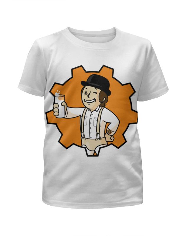 Футболка с полной запечаткой для мальчиков Printio Фоллаут ( fallout ) футболка с полной запечаткой для девочек printio fallout