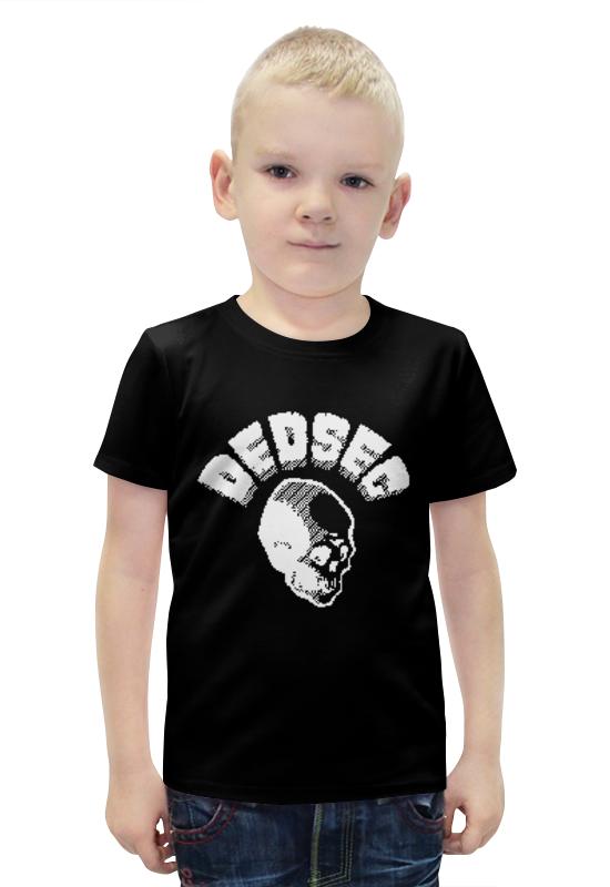 Футболка с полной запечаткой для мальчиков Printio Dedsec футболка с полной запечаткой для мальчиков printio watch dogs 2 arsb