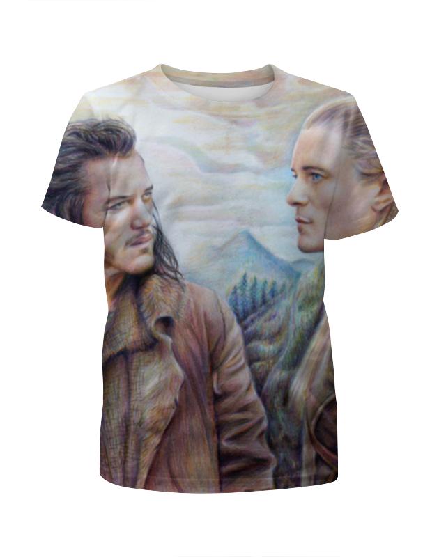Printio Хоббит (the hobbit) футболка с полной запечаткой для мальчиков printio hobbit