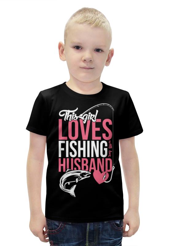 Футболка с полной запечаткой для мальчиков Printio Loves футболка с полной запечаткой для мальчиков printio bats spawn arsb