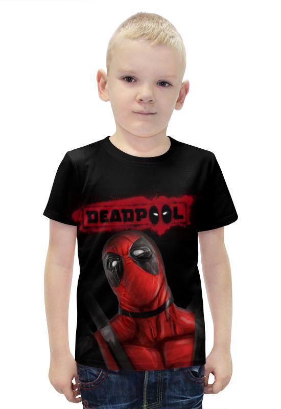 Футболка с полной запечаткой для мальчиков Printio Дэдпул футболка с полной запечаткой для мальчиков printio bats spawn arsb
