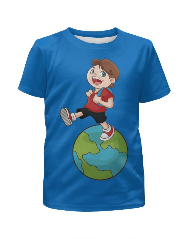 Футболка с полной запечаткой для мальчиков Printio Школа футболка школа