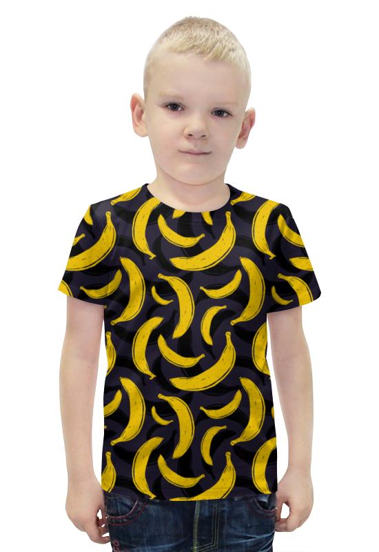 Футболка с полной запечаткой для мальчиков Printio Бананы футболка с полной запечаткой для мальчиков printio bats spawn arsb
