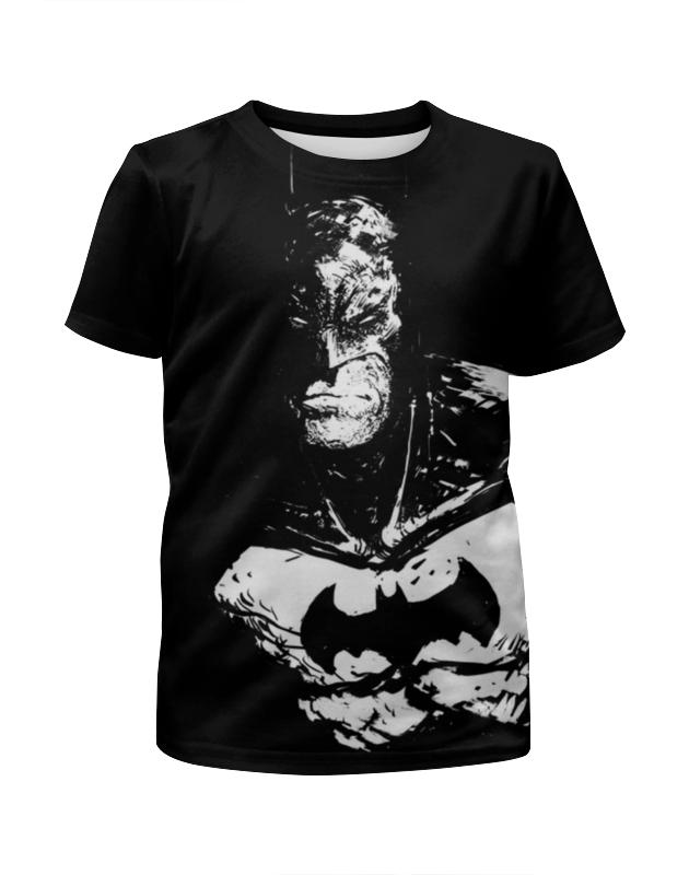 Футболка с полной запечаткой для мальчиков Printio Бэтмен футболка с полной запечаткой для девочек printio бэтмен batman