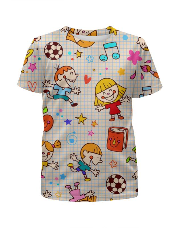 Футболка с полной запечаткой для мальчиков Printio Детство футболка с полной запечаткой для девочек printio детство