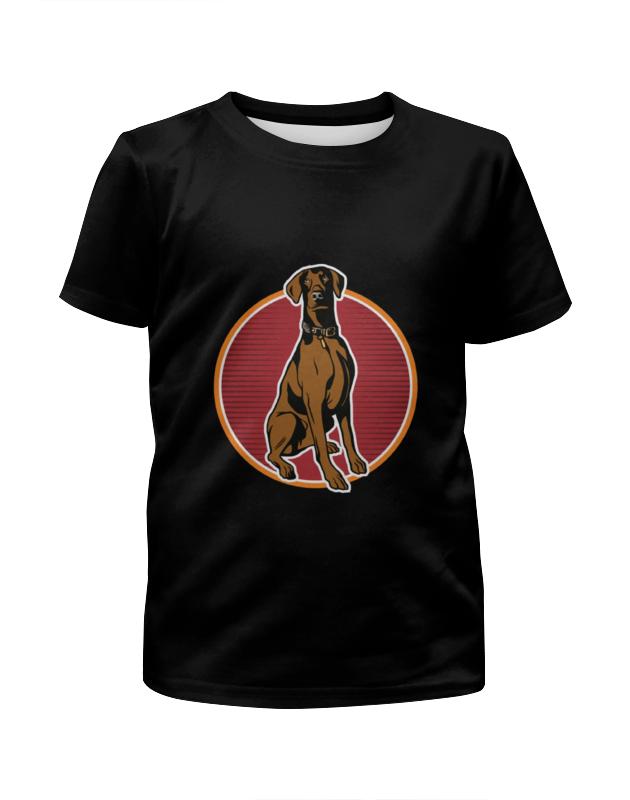 Printio Любимый пёс футболка с полной запечаткой для мальчиков printio пёс оператор