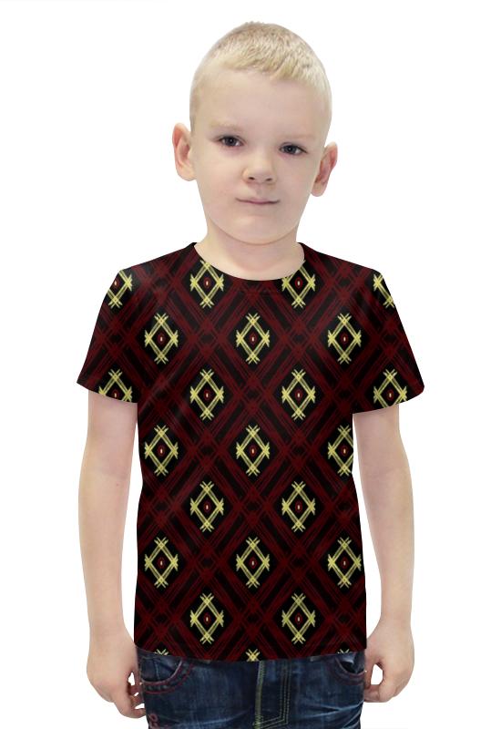 Футболка с полной запечаткой для мальчиков Printio Квадрат футболка с полной запечаткой для мальчиков printio bats spawn arsb