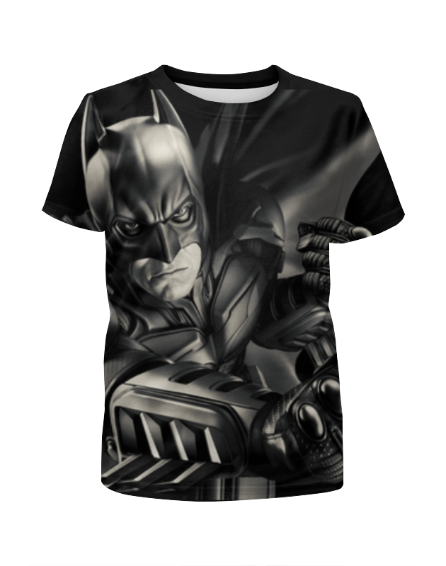 Футболка с полной запечаткой для мальчиков Printio Batman футболка с полной запечаткой для мальчиков printio haiku