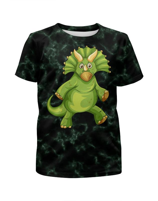 Футболка с полной запечаткой для мальчиков Printio Динозавр футболка с полной запечаткой для мальчиков printio shamash