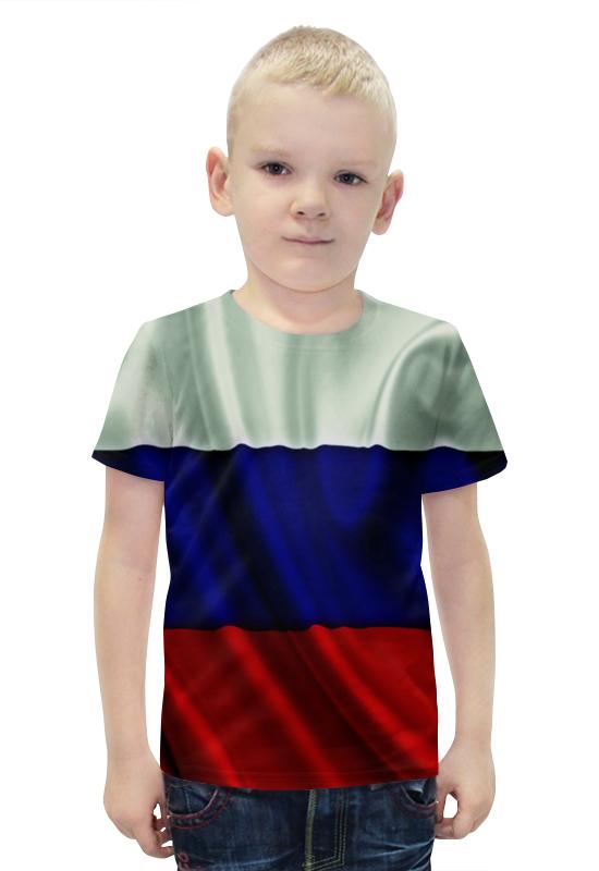 Футболка с полной запечаткой для мальчиков Printio Триколор футболка с полной запечаткой для мальчиков printio bats spawn arsb