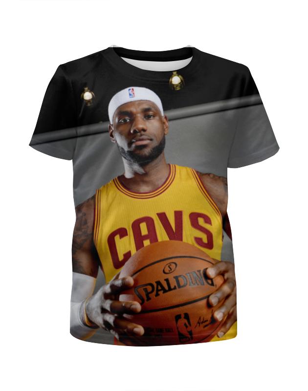 Футболка с полной запечаткой для мальчиков Printio Lebron james футболка с полной запечаткой для девочек printio lebron james
