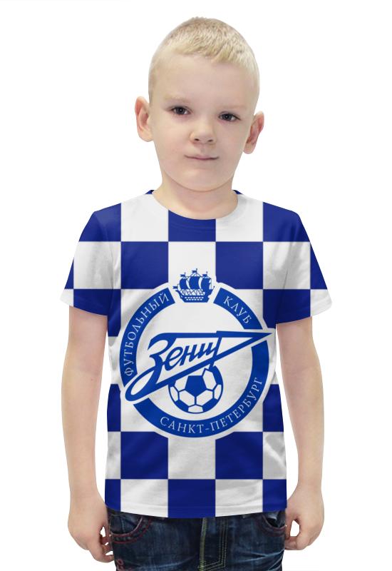 Футболка с полной запечаткой для мальчиков Printio Зенит пфк оптика к фотоопарату зенит с зумом 200
