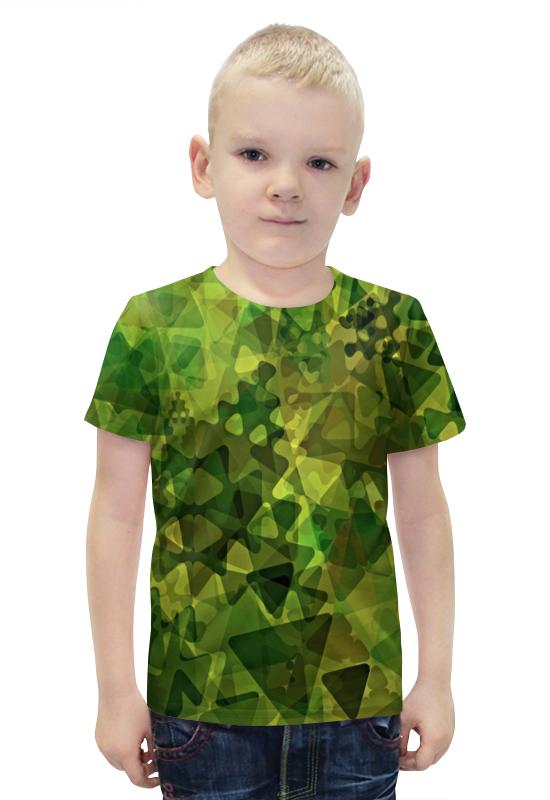 Футболка с полной запечаткой для мальчиков Printio Геометрия футболка с полной запечаткой для мальчиков printio bats spawn arsb