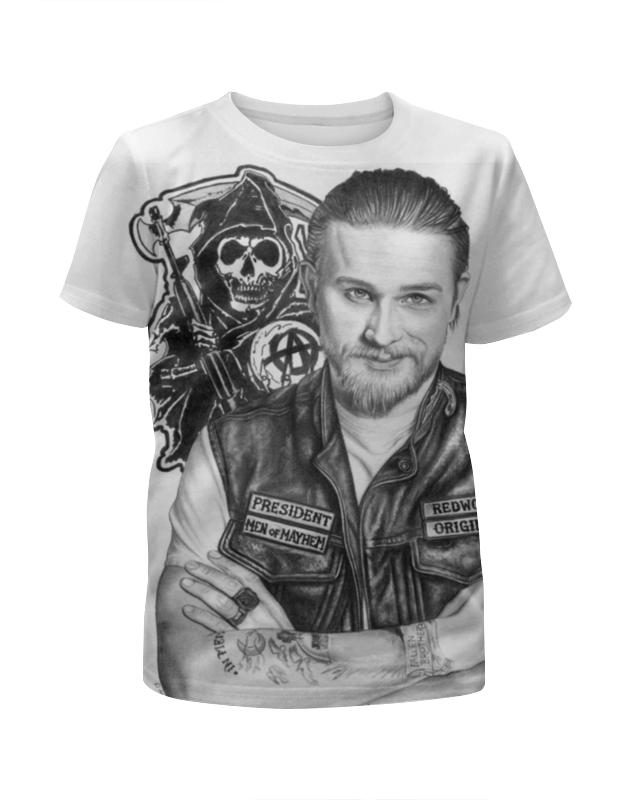 Printio Сыны анархии футболка с полной запечаткой для мальчиков printio сыны анархии
