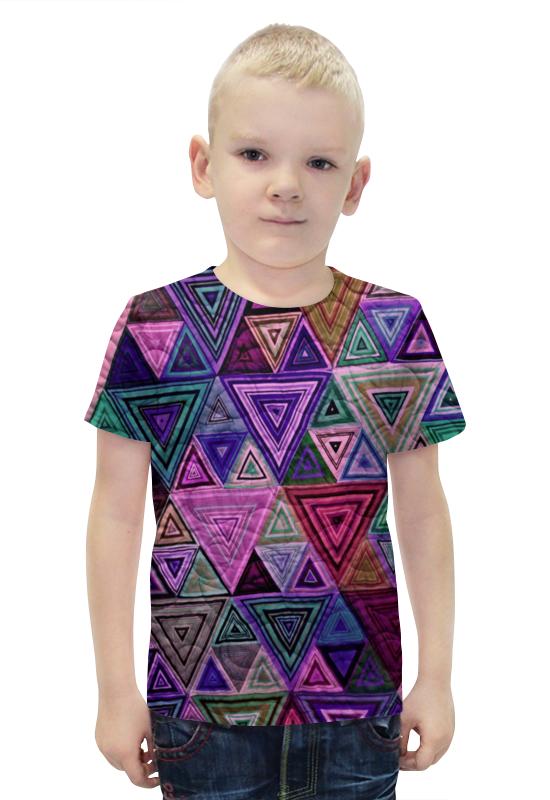 Футболка с полной запечаткой для мальчиков Printio Треугольный футболка с полной запечаткой для мальчиков printio bats spawn arsb