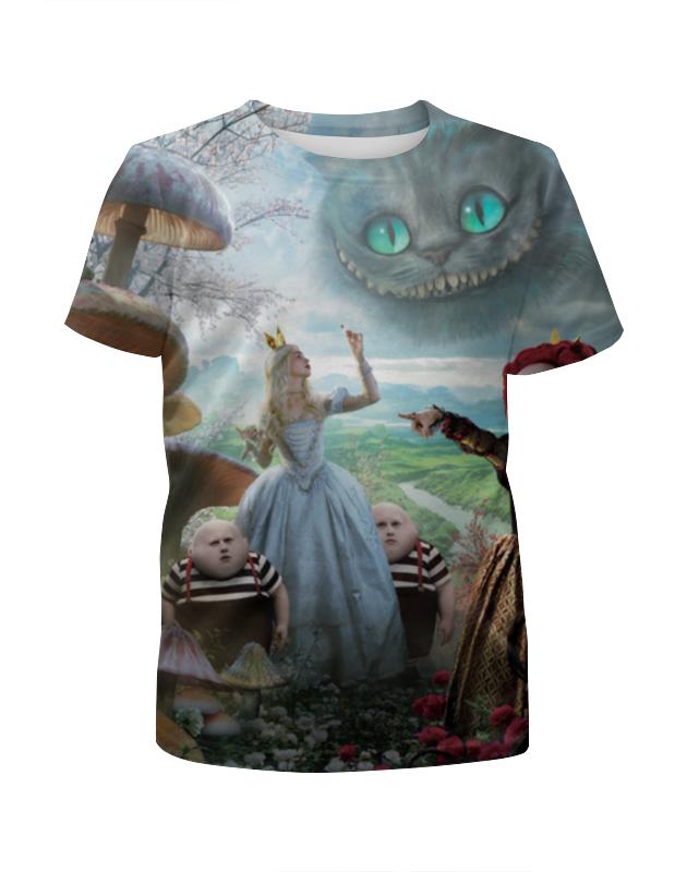 Футболка с полной запечаткой для мальчиков Printio Алиса в стране чудес футболка с полной запечаткой мужская printio алиса