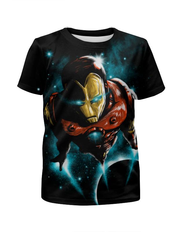 Printio Железный человек футболка железный человек
