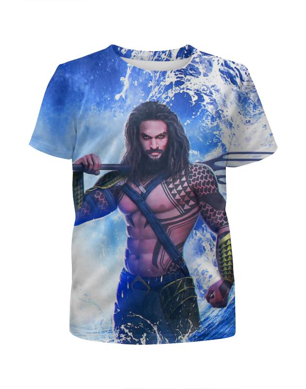 Футболка с полной запечаткой для мальчиков Printio Aquaman футболка с полной запечаткой для мальчиков printio на отдых
