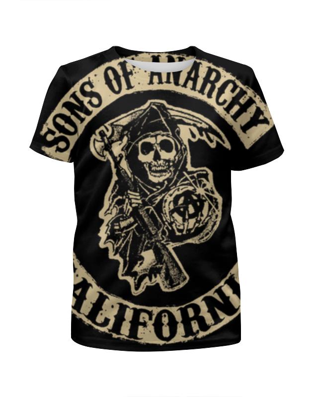 Футболка с полной запечаткой для мальчиков Printio Сыны анархии (sons of anarchy) футболка с полной запечаткой для девочек printio sons of anarchy сыны анархии