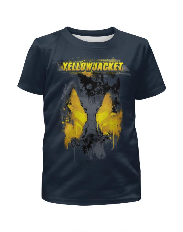 Футболка с полной запечаткой для мальчиков Printio Жёлтый жакет футболка с полной запечаткой для мальчиков printio braaaaatnsssss