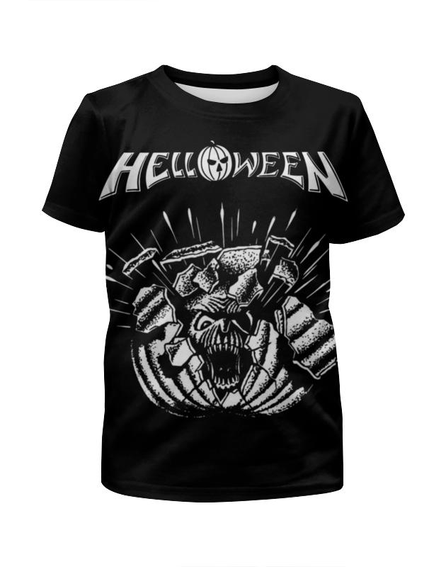 Футболка с полной запечаткой для мальчиков Printio Helloween ( rock band ) helloween madrid