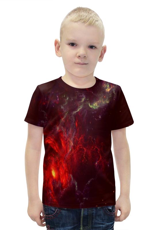 Футболка с полной запечаткой для мальчиков Printio Atlantis nebula футболка print bar atlantis nebula