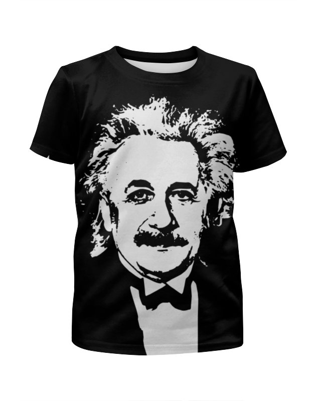 Футболка с полной запечаткой для мальчиков Printio Эйнштейн альберт эйнштейн леопольд инфельд эволюция физики