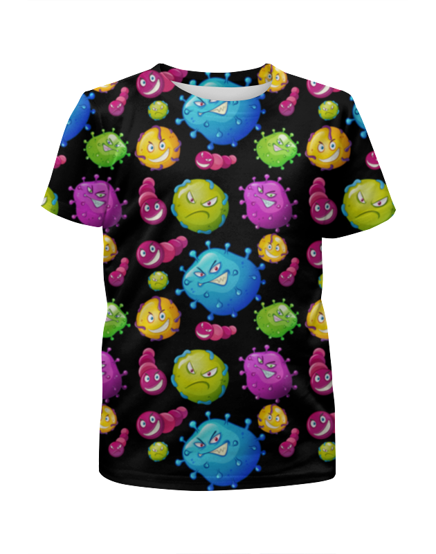 Футболка с полной запечаткой для мальчиков Printio Вирус printio футболка с полной запечаткой для мальчиков