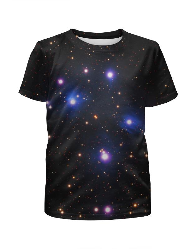 Футболка с полной запечаткой для мальчиков Printio Космос (space)