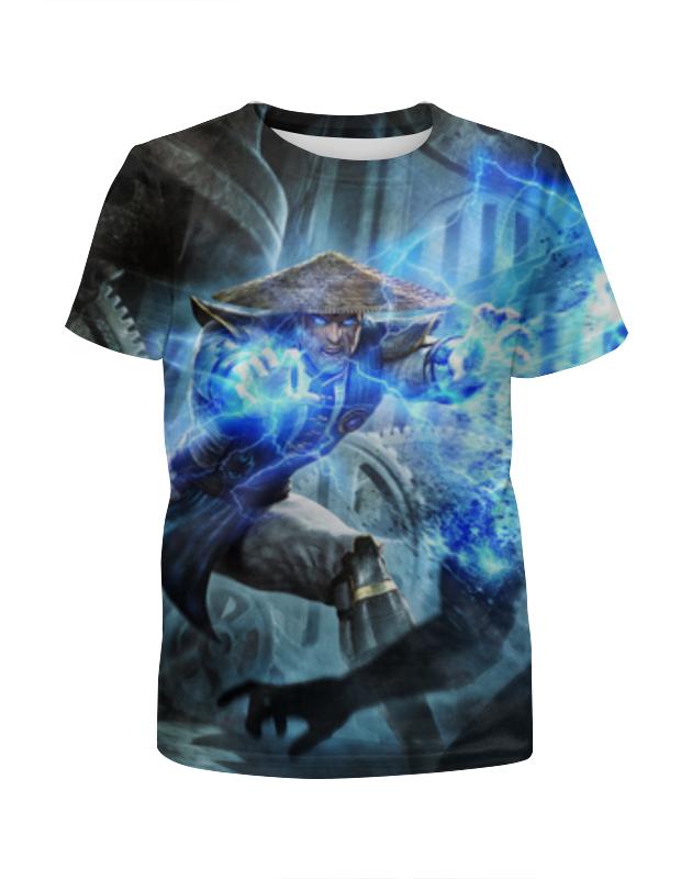 Футболка с полной запечаткой для мальчиков Printio Mortal kombat футболка с полной запечаткой для мальчиков printio bats spawn arsb