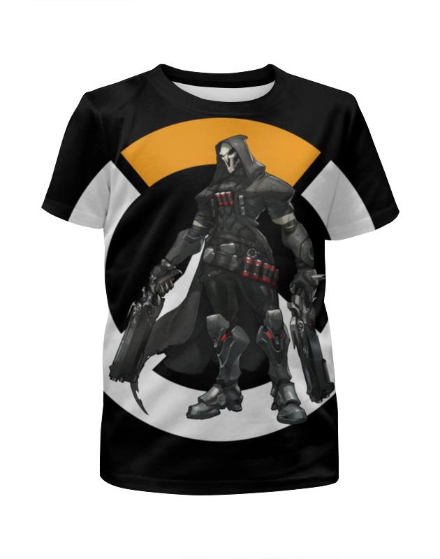 Футболка с полной запечаткой для мальчиков Printio Overwatch reaper / жнец овервотч reaper man